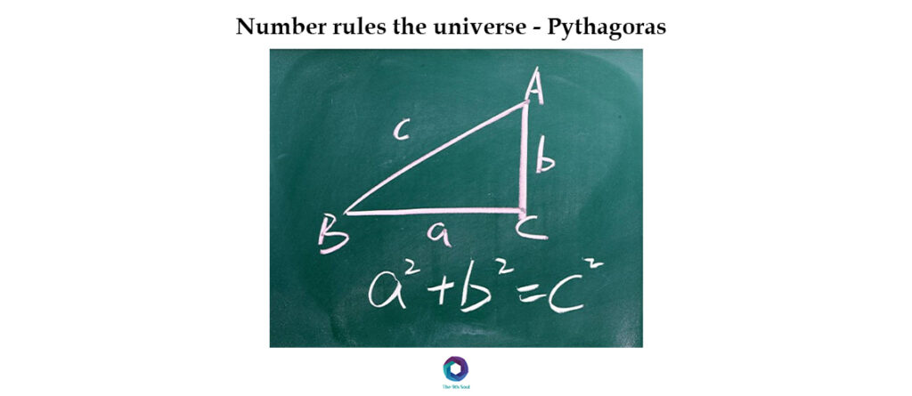 Number rules the universe – Pythagoras